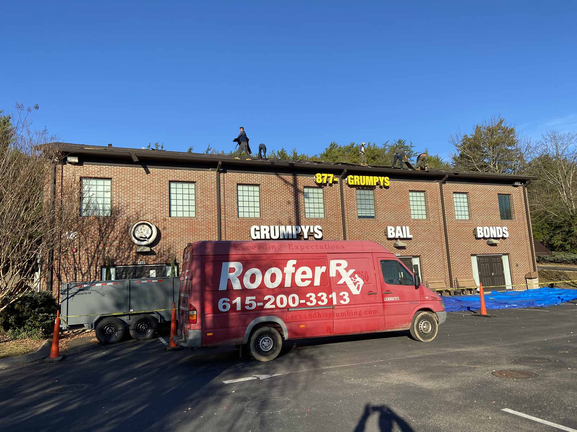 Commrecial Roofing Franklin TN - Roofer Rx