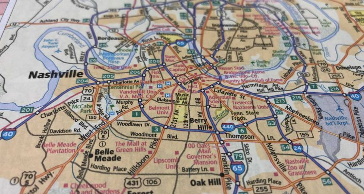 Nashville Roofer - Roofer Rx - Map